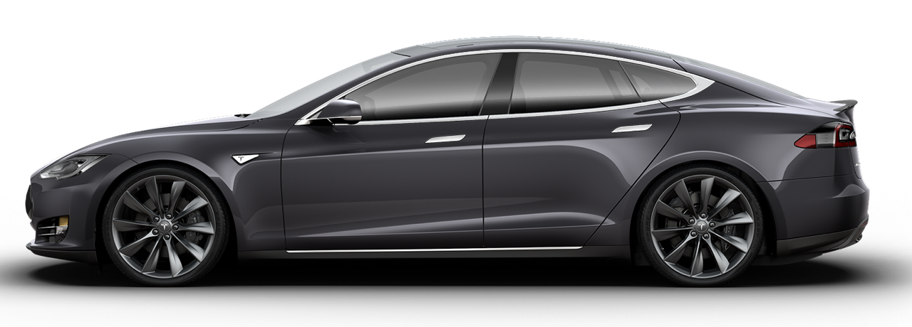 Model S sideview